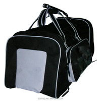 90L volume Polyester 900 D outside sports bag famous brand traveling trolley bag