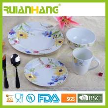 16pcs dinnerware set ceramic porcelain, chinese restaurant dinnerware set