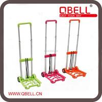 Foldable and Adjustable Aluminum Mini Trolley Cart