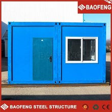 light steel mobile easy installation container coffee shop