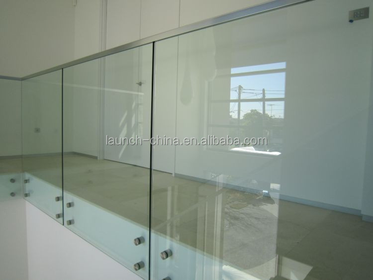 glass railing stainless steel 316 slot tube handrail mini top rail