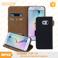 BRG New Product Leather Phone Case For Samsung Galaxy S6 Edge