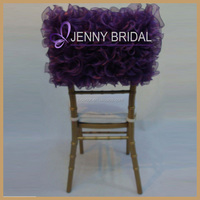 C005B Jenny bridal hot and new style purple chiavari chair covers for weddings