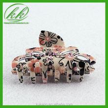 Women claw flower beads motif hair band ,hiar clasp ,hair clips for decoration Ykk-917-1