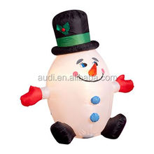 Humpty Dumpty Inflatable Snowman/2016 inflatable christmas decoration