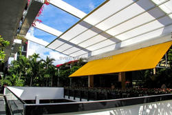 Unique with logo steel structure special big tents for car parking for basketball courts