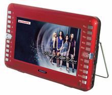 2015 year 10.5 inch high definition car dvd player with USB and LED screen and swivel screen