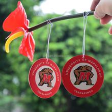 guangzhou manufacturer paper type auto perfume car air freshener