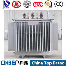 100% guaranteed no leakage 6.6KV to 400V S9-M-315KVA oil immersed power transformer