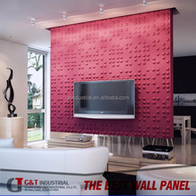 Skilful manufacture of 3d mdf wall panelling board/embossed hard board wall panel