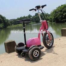 New design 3-wheeled standing up sports motor bike with detached seat