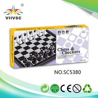 New product strong packing plastic chess game set 2015