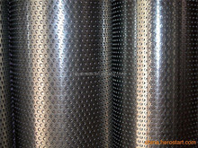 Plain Weave Weave Style and Perforated Mesh Type pvc coated perforated metal sheet
