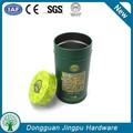 Runde teedose Box& luftdicht kaffeedose Box& brauch metallbox für tee lagerung