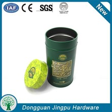 Round Tea Tin Box&airtight coffee tin box &custom metal box for tea storage