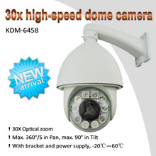 10 years Manufactury High quality!!! 360 degree wide angle Auto tracking high-speed 150 IR Distance dome cctv camera(1000TVL)