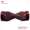 50cc self balancing two wheel electric scooter board with led flashing light and bluetooth