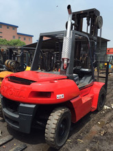 Used Toyota 8 Ton Forklift , Forklift Truck From Japan , Low Price