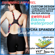 Fashion Digital sublimation transfer printed Cheap one piece girls swimsuit