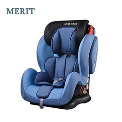 Portable Baby Kid Infant Car Seat blue for children 9- 36kgs Group I+II+III PP Injection European standard ECE R44/04