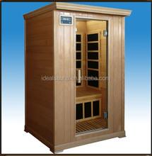 New product 2 person hemlock far infrared home sauna