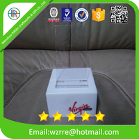 Custom Printed cell phone holder with handset for desk ,plastic folding mobile phone holder