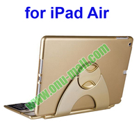 Multifunctional 360 Degree Rotatable Bluetooth Keyboard Case for iPad Air