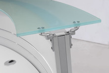glass style reception Table