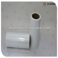 100micron Glossy Whte Top-Coated PP Removable Laminating Film for Packaging Lable