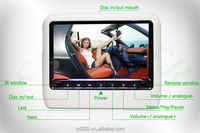 9 inch headrest car dvd player,car seat headrest covers,car headrest monitor