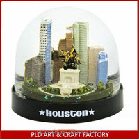 Texas City Snow Globe/Houston Snow Globe wholesales/Texas Houston snow globe