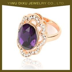 Fashion gold ring fashion jewelry big rings