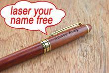 BP0001 wood engrave pen promotional wood ballpoint pen promotional wood pen