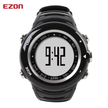 Hot! EZON T013C15 Wristband Pedometer Calorie Counter Crane Sports Heart Rate Monitor Sports Watch