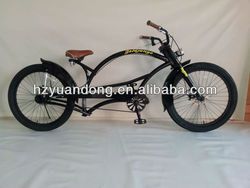 24'' Customized Single Speed Chopper bicycle Beach Cruiser Men's Bike