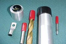 Soft PVC end cap for steel tube
