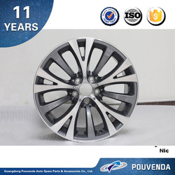 Aluminum Car Wheel for BMW 5 Series F10 Wheel hub silver Auto accessories from Pouvenda