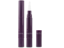 4ML cosmetic twist pen with brush applicator