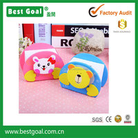 cartoon animal wooden coin box birthday gift box for kids