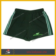high quality custom sports fitness gym and running tight shorts authentic wear