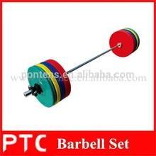 olímpicos de 50kg juego de barra