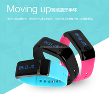 2015 Best selling products Tw68 pedometer smart bracelet, bluetooth waterproof ip67 smart band for android ios smart phone