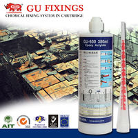 Extremly heavy loads on aerated concrete anchor epoxy