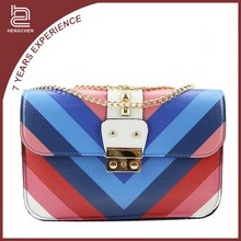 Candy color pu leather shoulder Handbags cool handbags