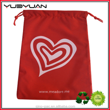 2015 China Wholesale Custom Printed Factory Price Fancy Design Canvas Bag Drawstring