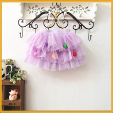 The New Children's Clothing Colorful Skirt Wholesale Korean Lovely Cake Skirt Kids Short Skirts ZZJ-DR-232