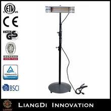 Energy Saving Freestanding Vertical Waterproof IP65 Garden Electric Patio Heater