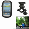 Bicycle Holder Waterproof phone Bag for iphone with 360 degree rotating Steady and firm