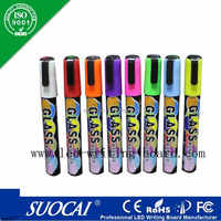 Alibaba hot selling OEM colored liquid chalk marker 18 pack