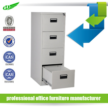 4 drawer office storage assemble grey vertical filing cabinet
